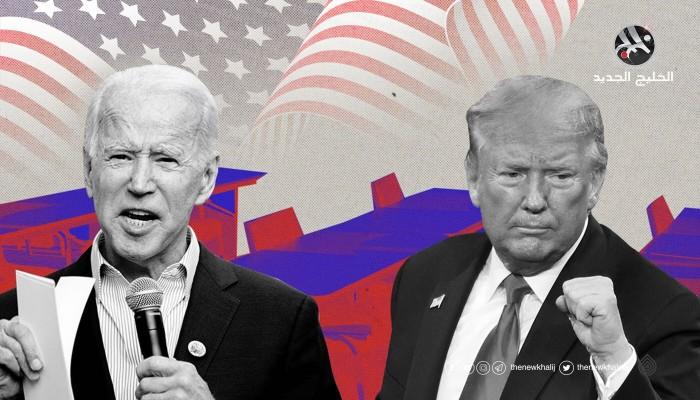 نتائج الانتخابات الأمريكية بين فريقين