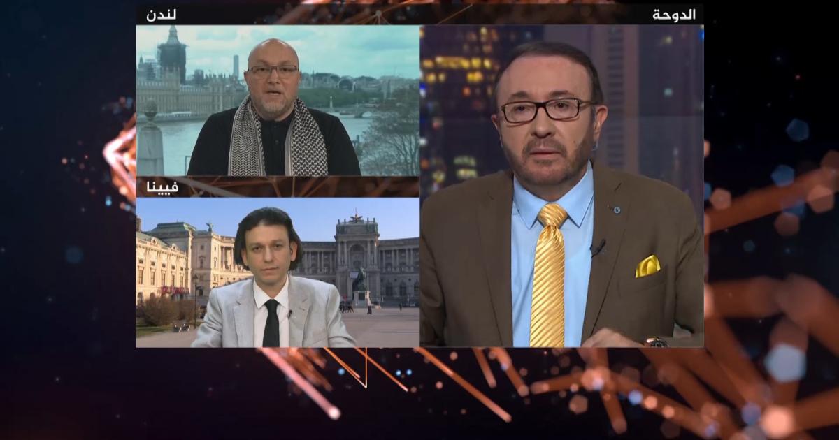 إعلام الجزيرة واستغلال غزة لتلميع النظام السوري وإيران