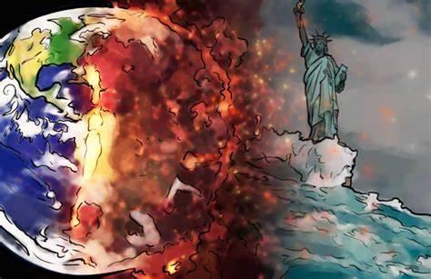 سقوط أمريكا والماركسية